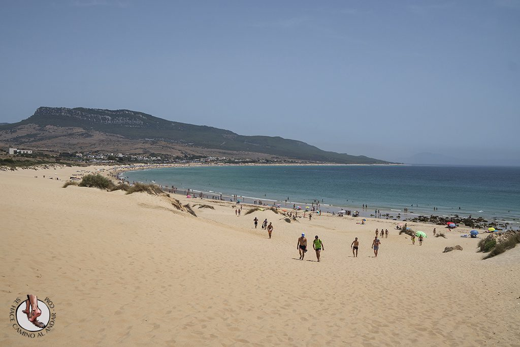 que ver en Tarifa playa de bolonia duna subidas
