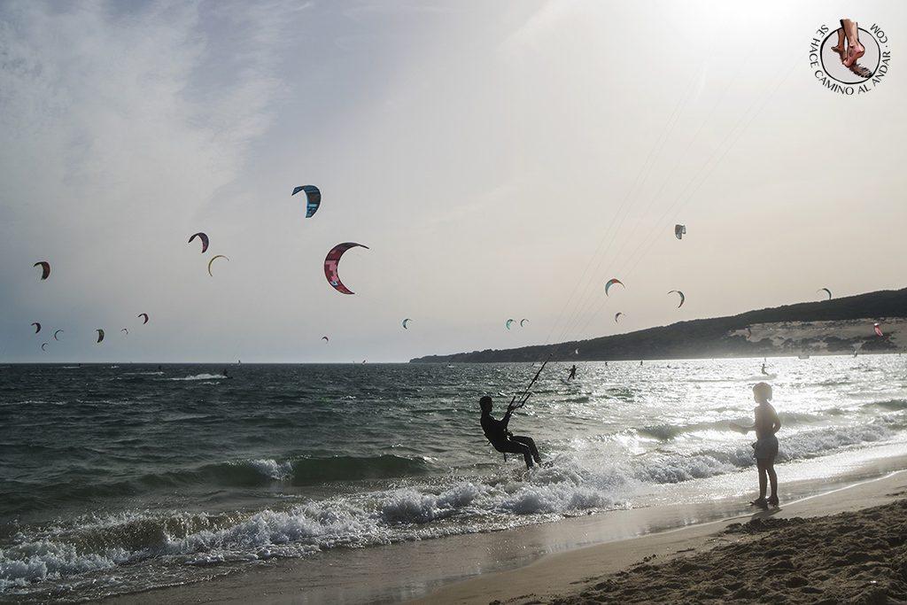 que ver en Tarifa playa valdevaqueros vistas