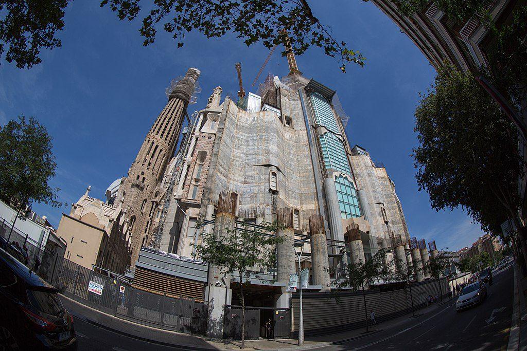Sagrada Familia. Fachada de la Gloria.