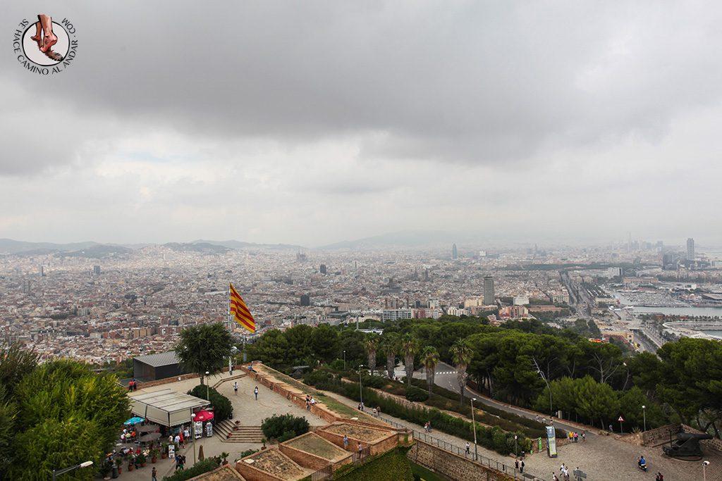 que ver en barcelona vistas desde castillo montjuic
