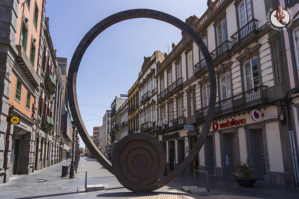 que ver en las palmas barrio triana espiral del viento