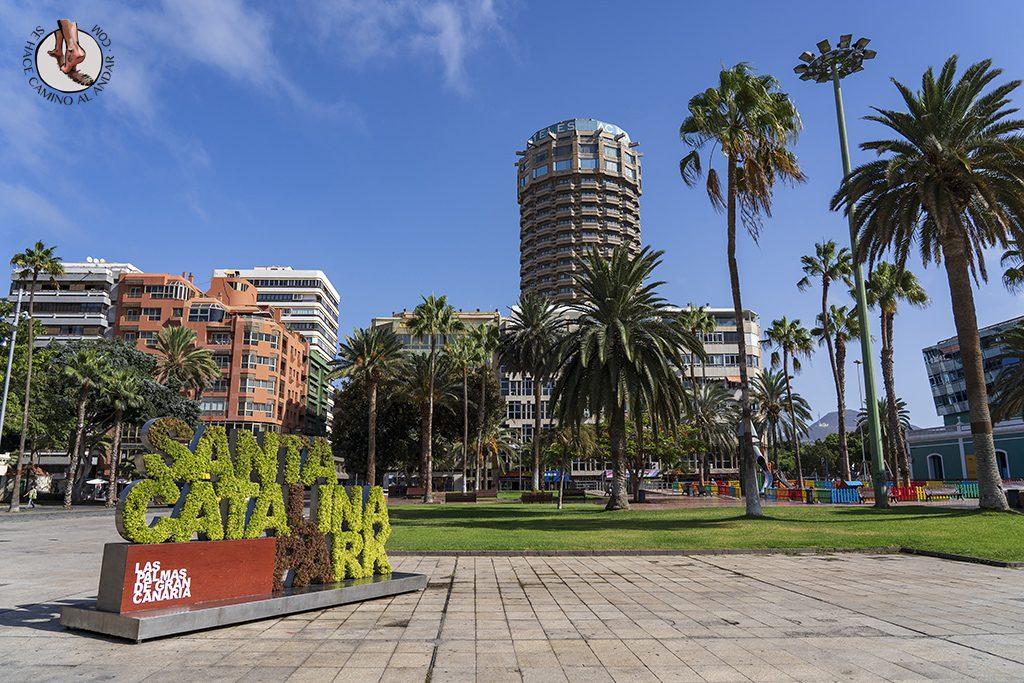 que ver en las palmas parque santa catalina
