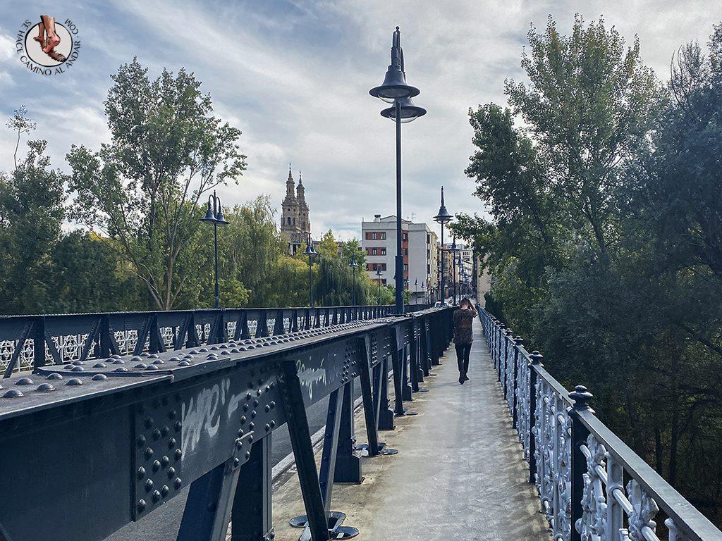 que ver en logrono puente hierro