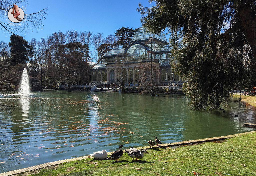 que ver en madrid lago palacio cristal