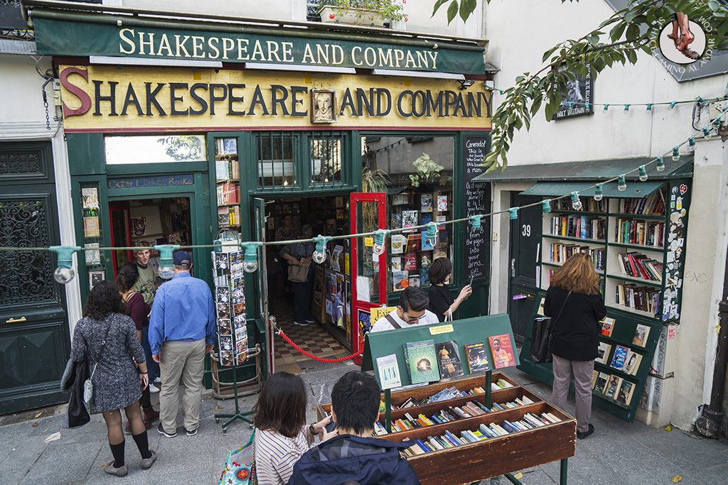 que ver en paris barrio latino libreria shakespeare