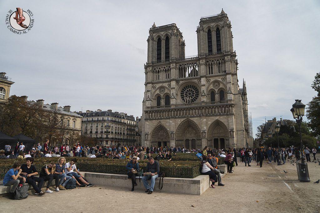 que ver en paris catedral notre dame plaza