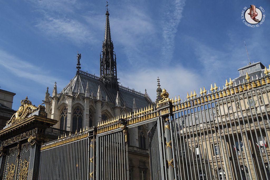 que ver en paris saint chapelle verja