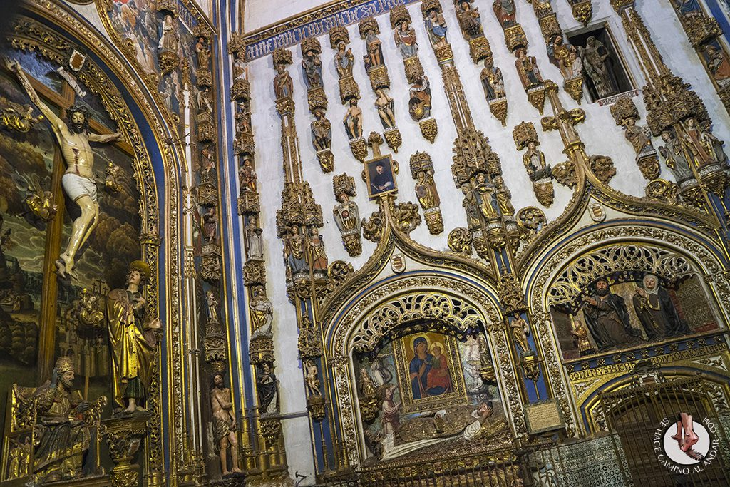 que ver en salamanca catedral nueva capilla dorada
