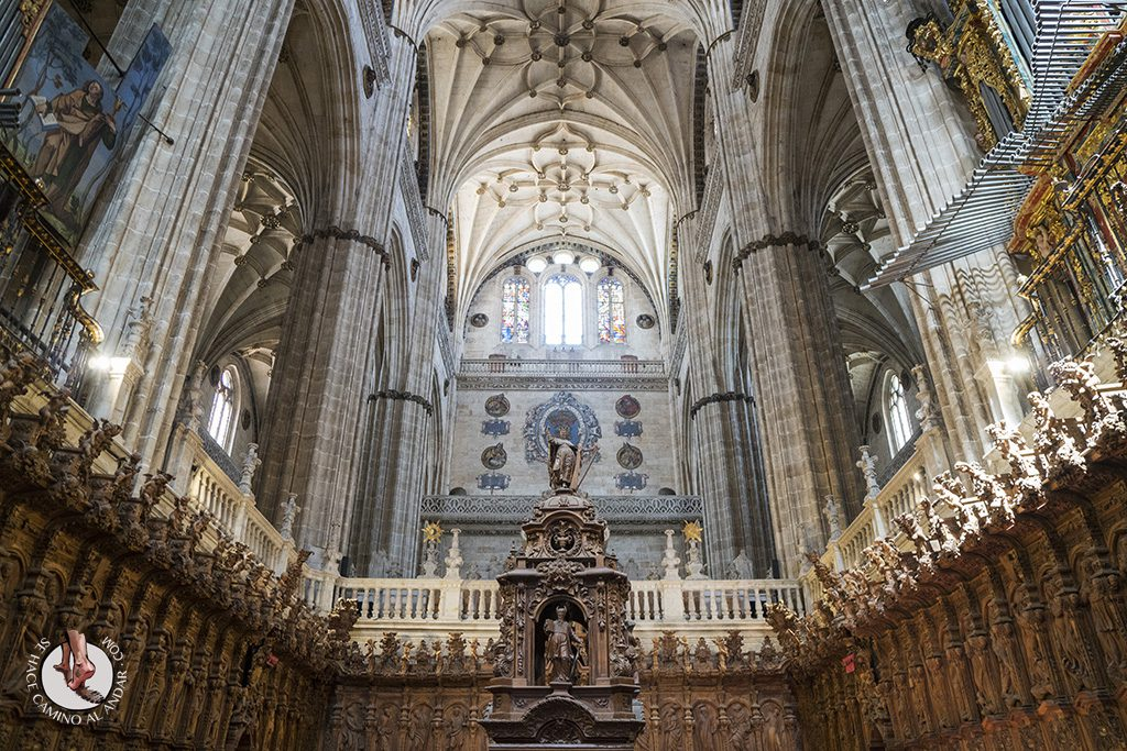 que ver en salamanca catedral nueva coro
