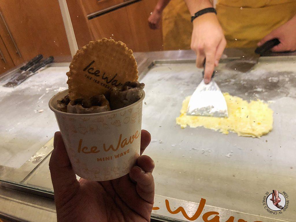 que ver en salamanca ice wave helado