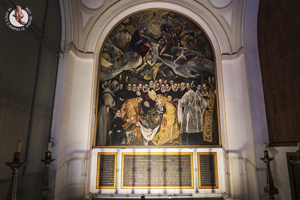 que ver toledo iglesia santo tome greco