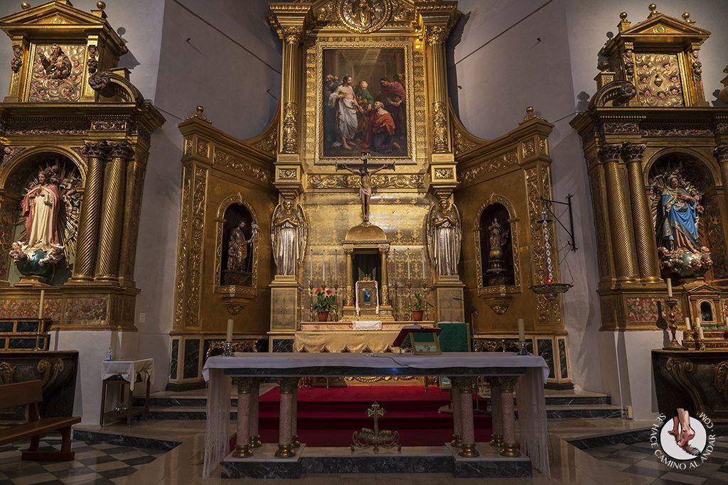 que ver toledo iglesia santo tome interior