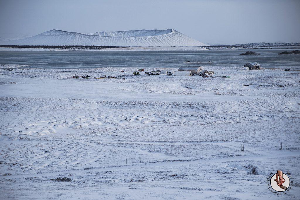 ring road 5-7 Volcan Hverfjall mirador