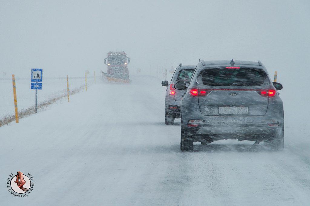 ring road islandia dia 4-7 carretera tormenta nieve