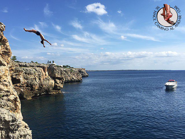 saltos al mar menorca chalo84