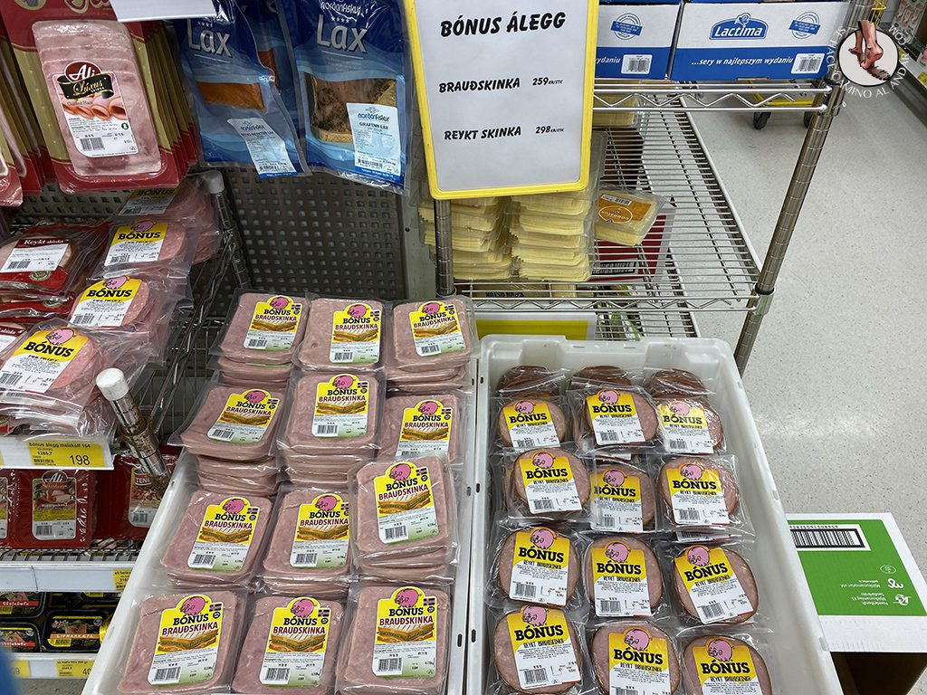 supermercado barato islandia bonus jamon york