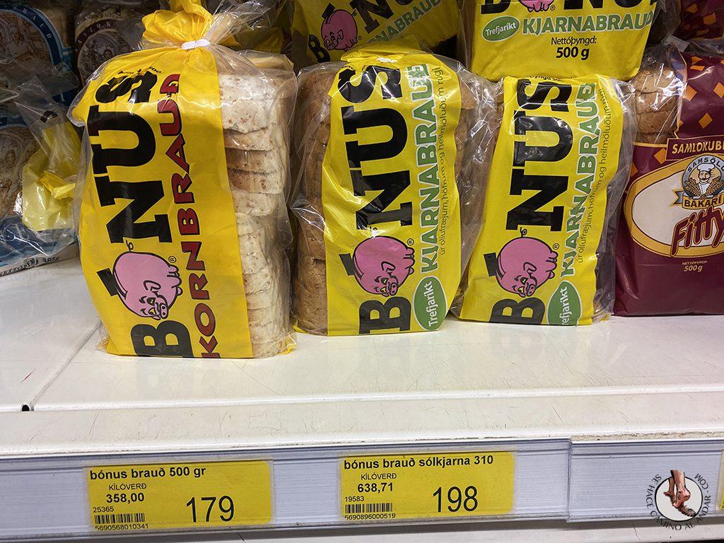 supermercado barato islandia bonus pan bimbo