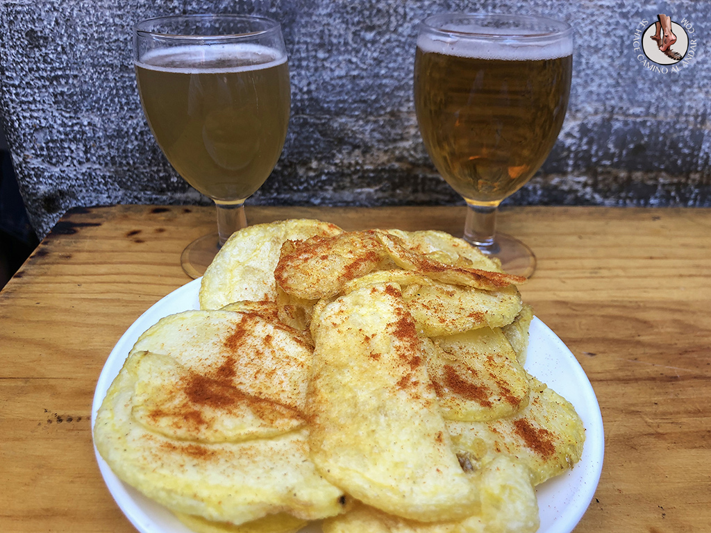 tapas de León el flechazo patatas fritas pimenton