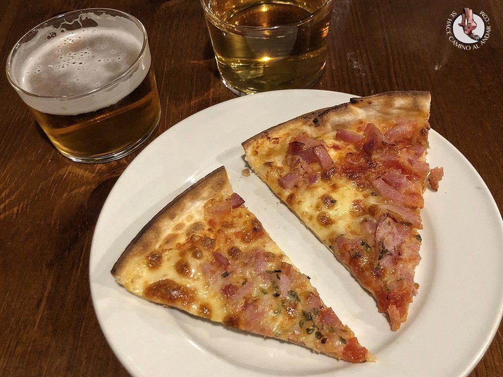 tapas de León la competencia pizza