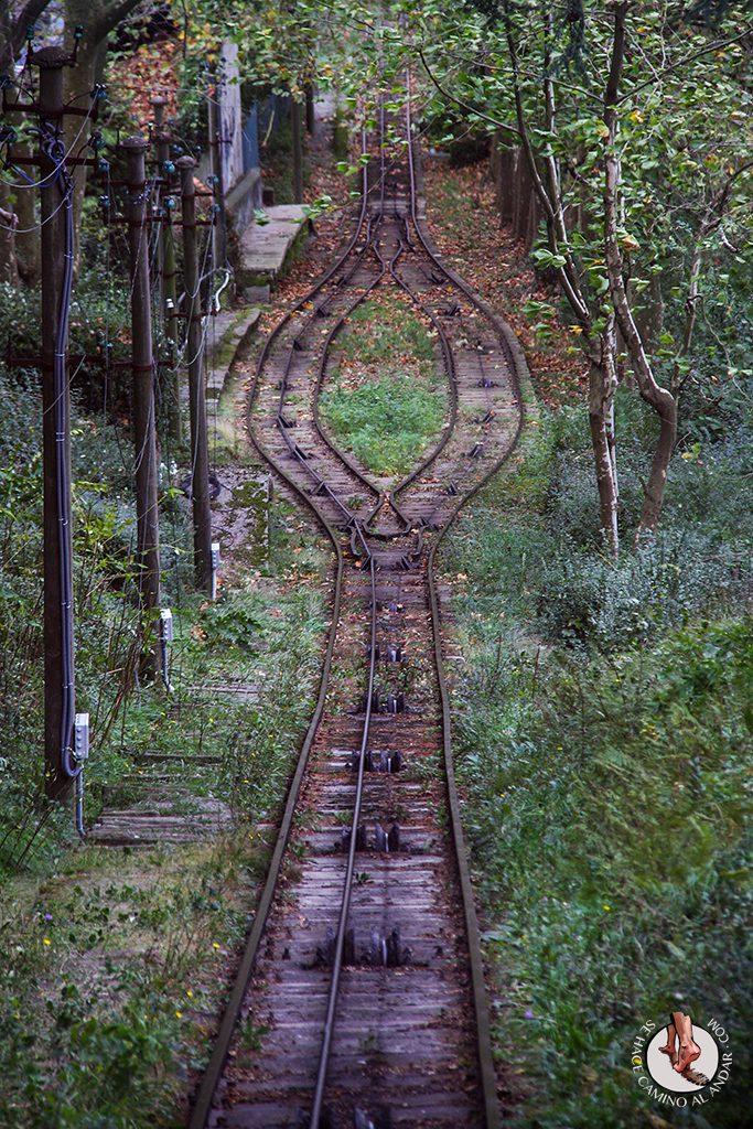 trayecto funicular igeldo