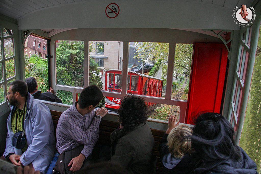 vagones funicular igeldo