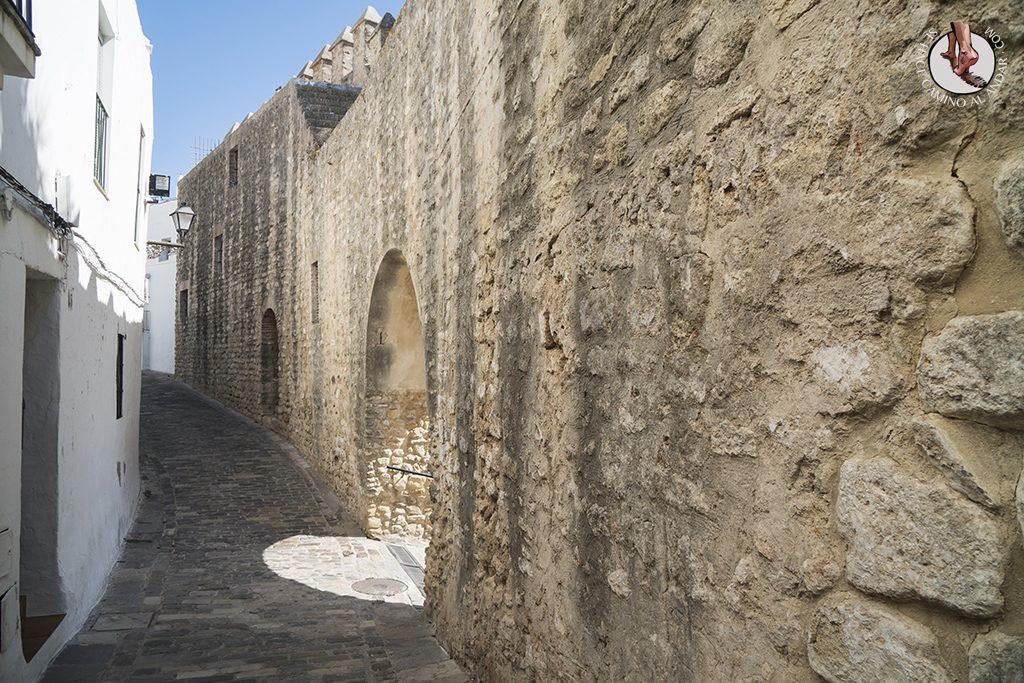 vejer de la frontera calle juderia muralla