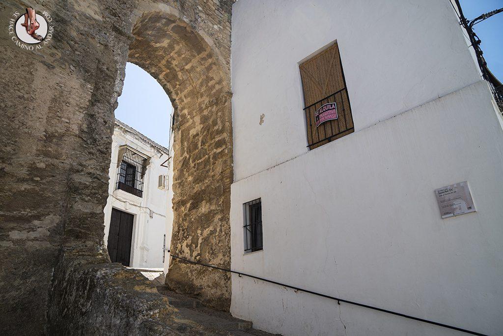 vejer de la frontera muralla Puerta de Sancho IV