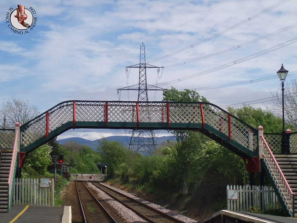 via cerrada estacion tren Llanfair PG