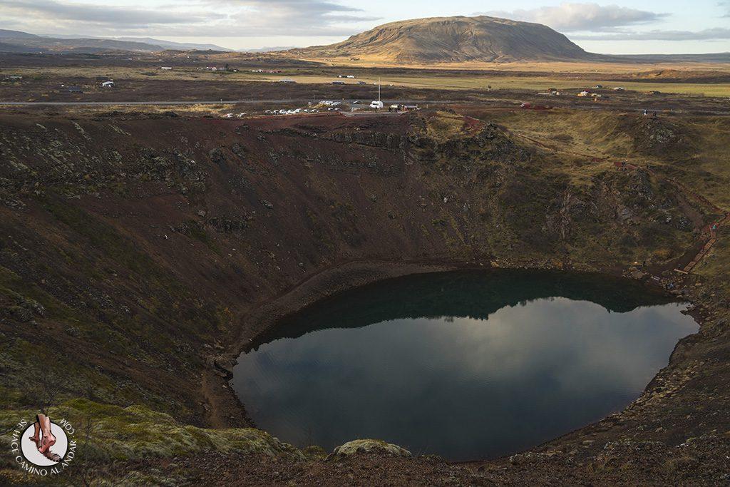 Islandia crater Kerid