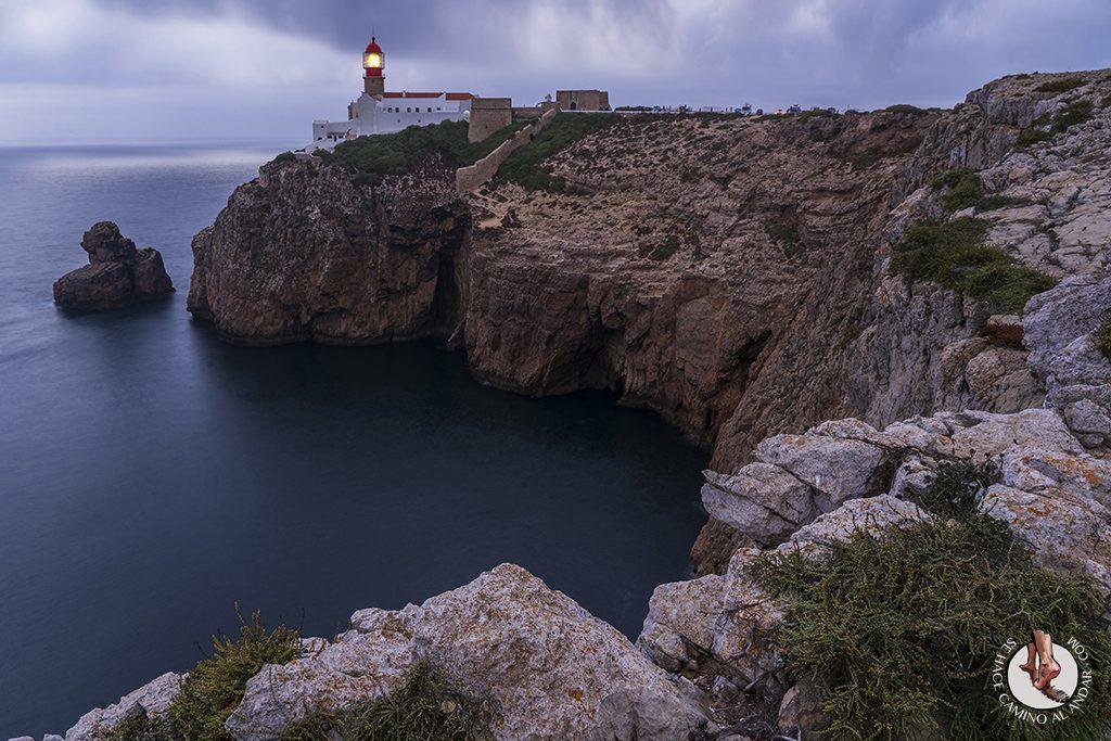 visitar algarve Cabo de Sao Vicente larga exposicion