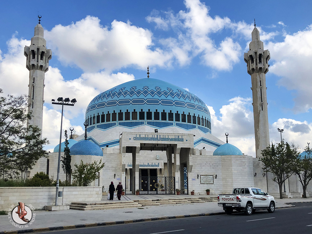 visitar amman un dia Mezquita Rey Abdala