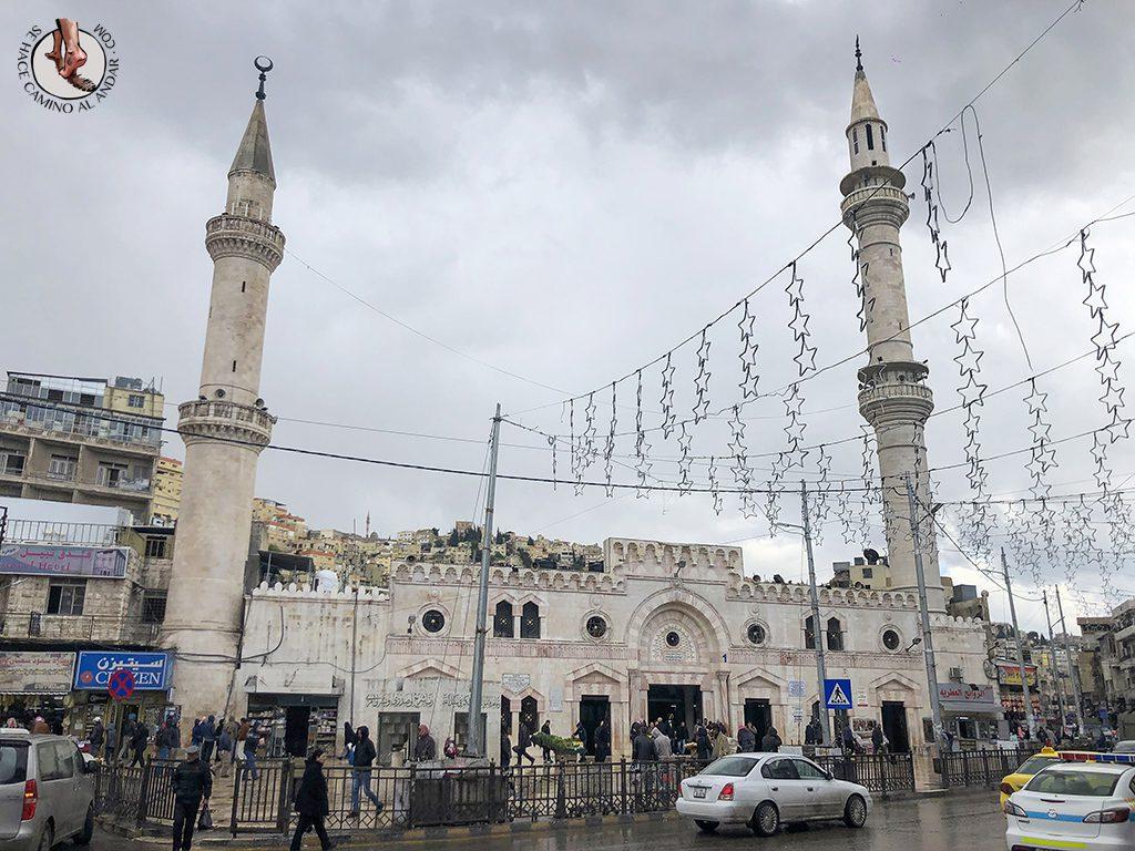 visitar amman un dia mezquita al-hussein