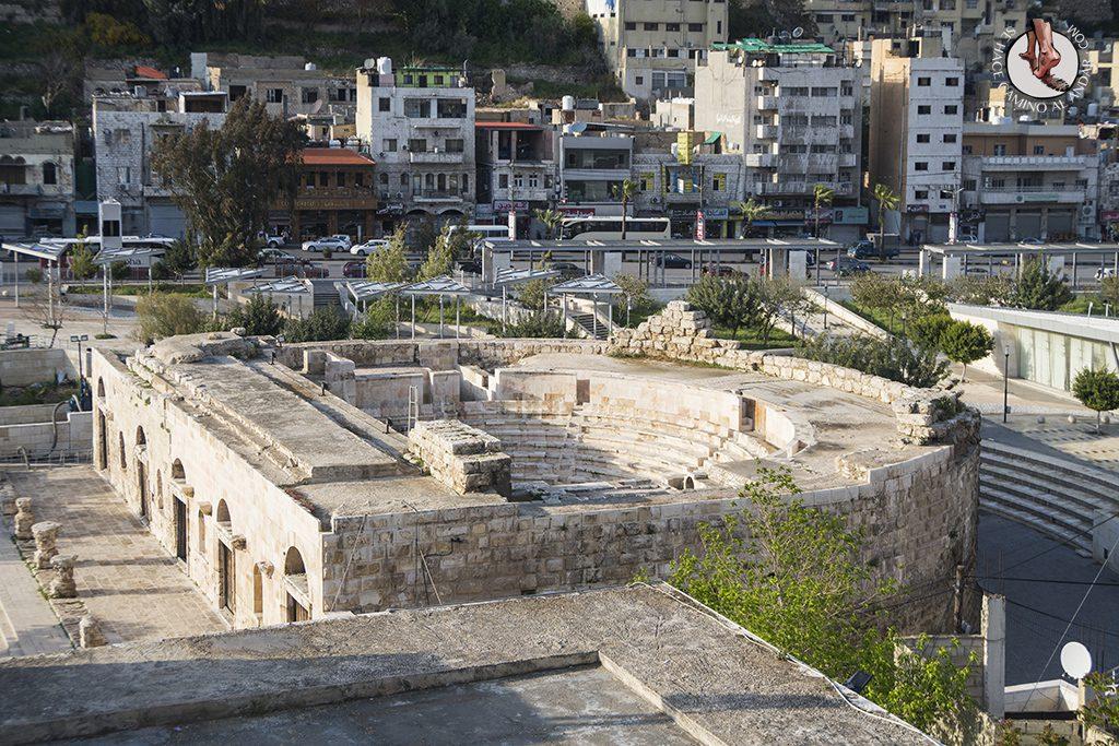 visitar amman un dia odeon romano