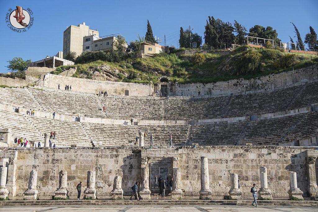 visitar amman un dia teatro romano entrada
