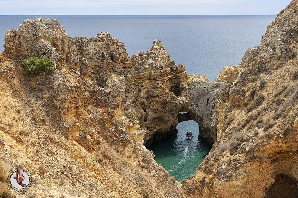 visitar el algarve Ponta da Piedade cueva