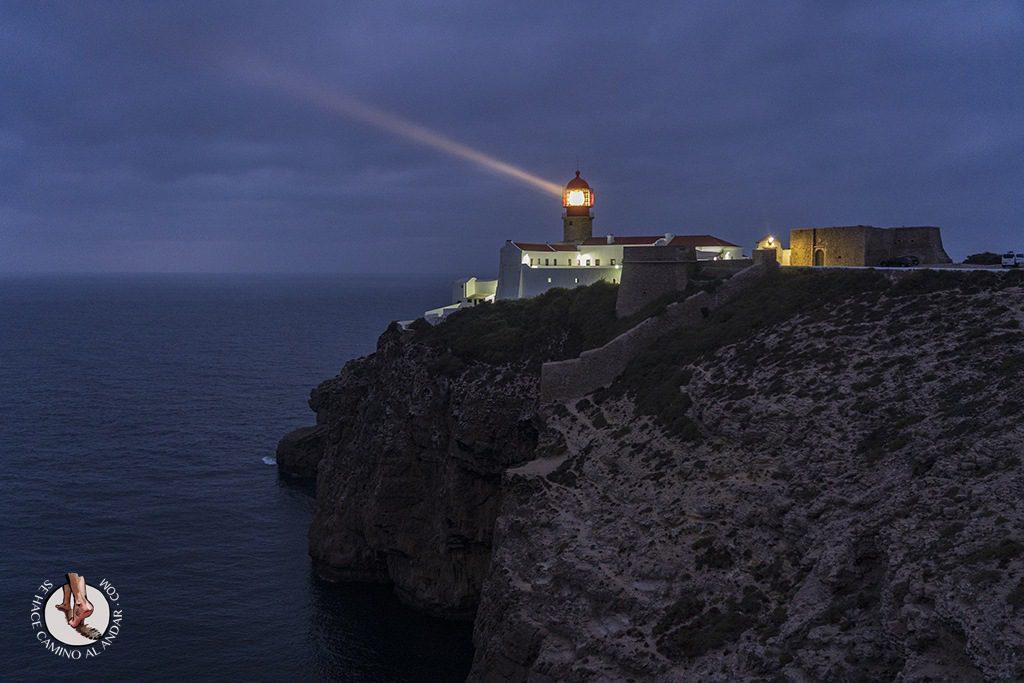 visitar sagres Cabo de Sao Vicente faro noche